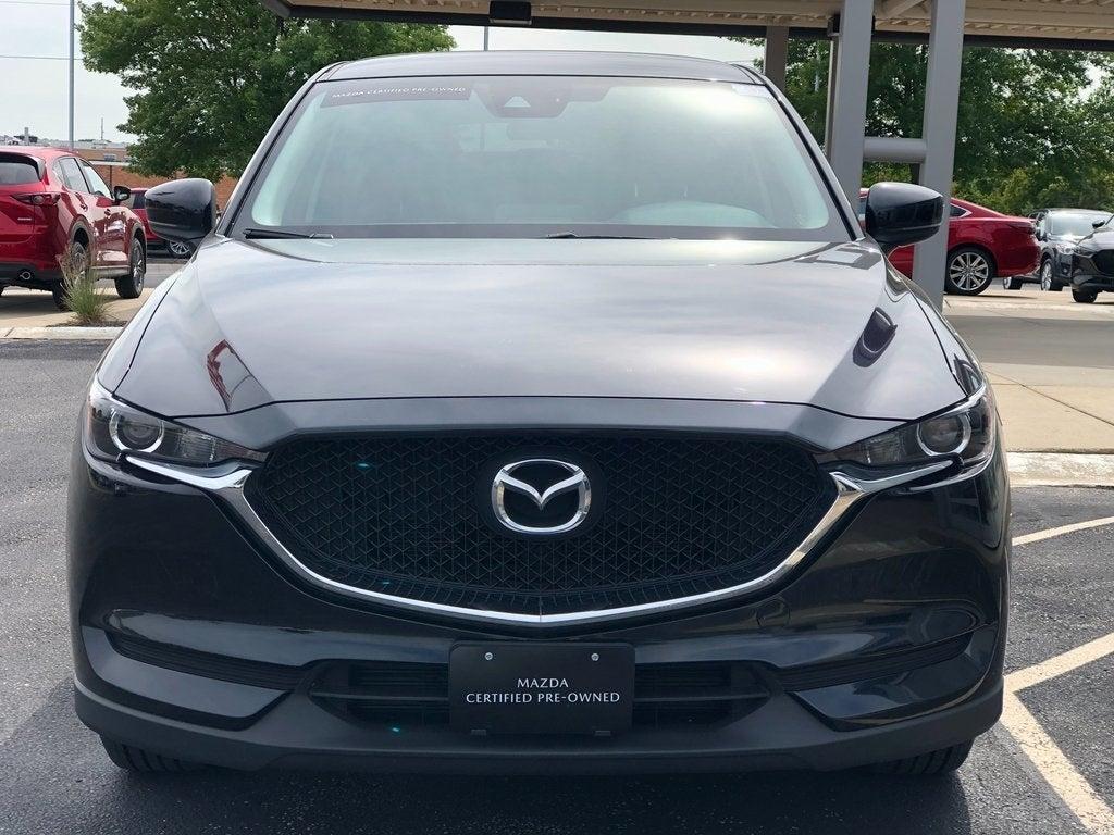 Certified 2018 Mazda CX-5 Sport with VIN JM3KFBBM2J0417809 for sale in Rochester, Minnesota