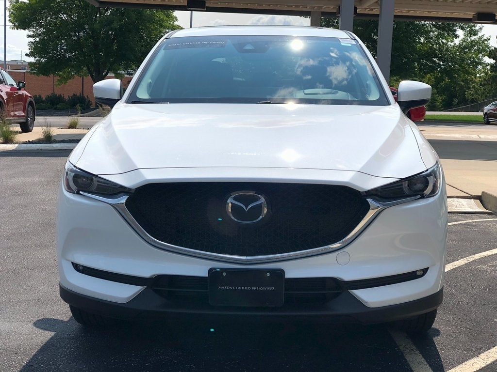 Certified 2021 Mazda CX-5 Grand Touring with VIN JM3KFBDM4M1300275 for sale in Rochester, Minnesota