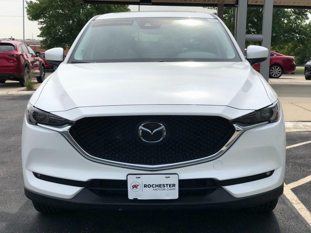 Certified 2018 Mazda CX-5 Grand Touring with VIN JM3KFBDM6J0429202 for sale in Rochester, Minnesota