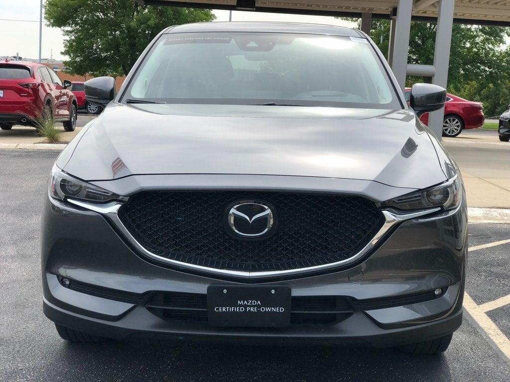 Used 2018 Mazda CX-5 Grand Touring with VIN JM3KFBDM7J0444212 for sale in Rochester, Minnesota