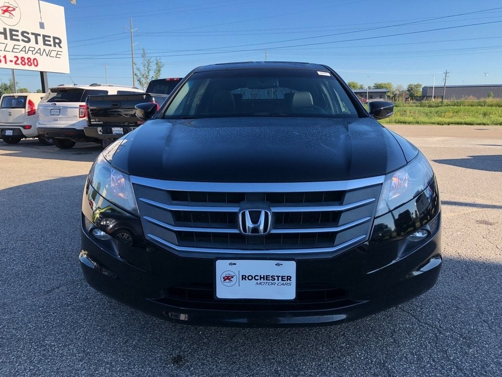 Used 2012 Honda Crosstour EX-L V6 with VIN 5J6TF2H58CL011736 for sale in Rochester, Minnesota